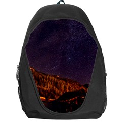 Italy Cabin Stars Milky Way Night Backpack Bag
