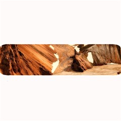 Iceland Mountains Snow Ravine Large Bar Mats by BangZart
