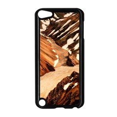 Iceland Mountains Snow Ravine Apple Ipod Touch 5 Case (black)