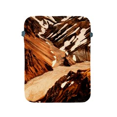Iceland Mountains Snow Ravine Apple Ipad 2/3/4 Protective Soft Cases