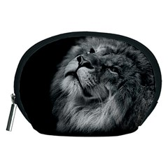 Feline Lion Tawny African Zoo Accessory Pouches (medium)