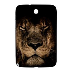 African Lion Mane Close Eyes Samsung Galaxy Note 8 0 N5100 Hardshell Case
