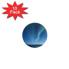 Aurora Borealis Lofoten Norway 1  Mini Magnet (10 Pack)