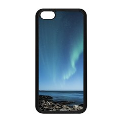 Aurora Borealis Lofoten Norway Apple Iphone 5c Seamless Case (black)