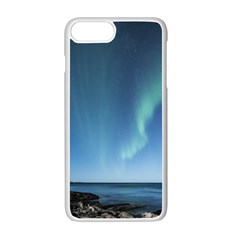 Aurora Borealis Lofoten Norway Apple Iphone 7 Plus Seamless Case (white) by BangZart