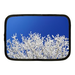 Crown Aesthetic Branches Hoarfrost Netbook Case (medium)  by BangZart