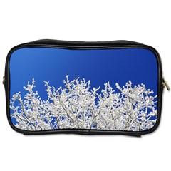 Crown Aesthetic Branches Hoarfrost Toiletries Bags 2 Side by BangZart