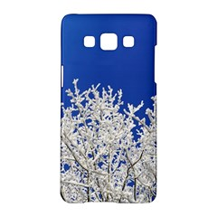 Crown Aesthetic Branches Hoarfrost Samsung Galaxy A5 Hardshell Case
