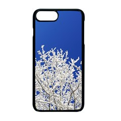 Crown Aesthetic Branches Hoarfrost Apple Iphone 7 Plus Seamless Case (black)