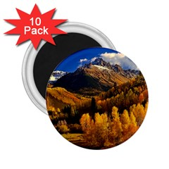 Colorado Fall Autumn Colorful 2 25  Magnets (10 Pack)