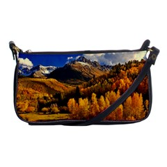 Colorado Fall Autumn Colorful Shoulder Clutch Bags by BangZart