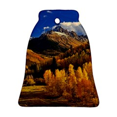 Colorado Fall Autumn Colorful Ornament (bell) by BangZart
