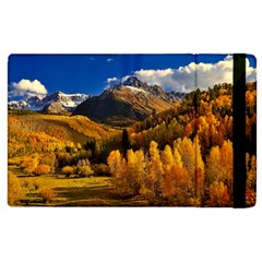 Colorado Fall Autumn Colorful Apple Ipad 3/4 Flip Case by BangZart