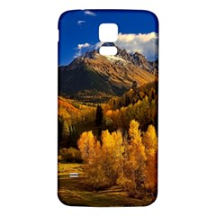 Colorado Fall Autumn Colorful Samsung Galaxy S5 Back Case (white) by BangZart
