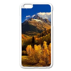 Colorado Fall Autumn Colorful Apple Iphone 6 Plus/6s Plus Enamel White Case by BangZart