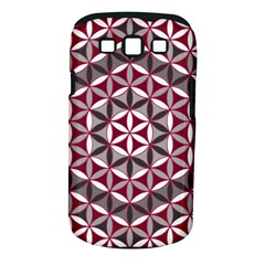 Flower Of Life Pattern Red Grey 01 Samsung Galaxy S Iii Classic Hardshell Case (pc+silicone) by Cveti