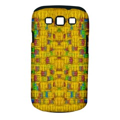Rainbow Stars In The Golden Skyscape Samsung Galaxy S Iii Classic Hardshell Case (pc+silicone) by pepitasart