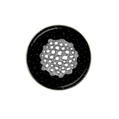 Strange Planet Hat Clip Ball Marker (4 Pack) by jumpercat