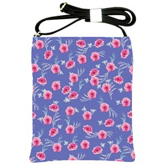 Roses And Roses Shoulder Sling Bags by jumpercat