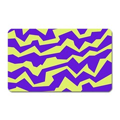 Polynoise Vibrant Royal Magnet (rectangular) by jumpercat