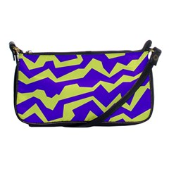 Polynoise Vibrant Royal Shoulder Clutch Bags by jumpercat