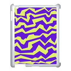 Polynoise Vibrant Royal Apple Ipad 3/4 Case (white) by jumpercat