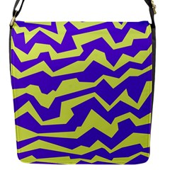Polynoise Vibrant Royal Flap Messenger Bag (s) by jumpercat