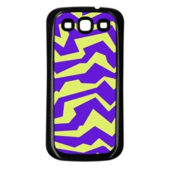 Polynoise Vibrant Royal Samsung Galaxy S3 Back Case (black)