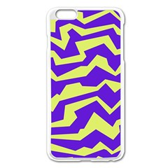 Polynoise Vibrant Royal Apple Iphone 6 Plus/6s Plus Enamel White Case by jumpercat