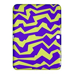 Polynoise Vibrant Royal Samsung Galaxy Tab 4 (10 1 ) Hardshell Case  by jumpercat