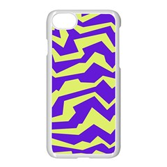 Polynoise Vibrant Royal Apple Iphone 8 Seamless Case (white) by jumpercat