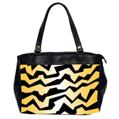Polynoise Tiger Office Handbags (2 Sides)