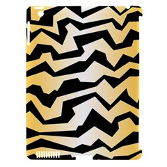 Polynoise Tiger Apple Ipad 3/4 Hardshell Case (compatible With Smart Cover) by jumpercat