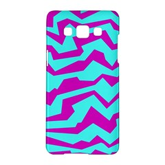 Polynoise Shock New Wave Samsung Galaxy A5 Hardshell Case  by jumpercat