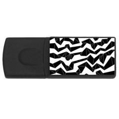 Polynoise Origami Rectangular Usb Flash Drive