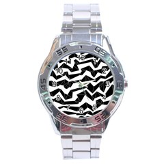 Polynoise Origami Stainless Steel Analogue Watch