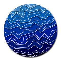 Polynoise Deep Layer Round Mousepads