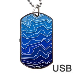 Polynoise Deep Layer Dog Tag Usb Flash (one Side) by jumpercat