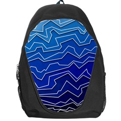Polynoise Deep Layer Backpack Bag by jumpercat