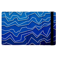 Polynoise Deep Layer Apple Ipad Pro 9 7   Flip Case by jumpercat