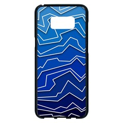 Polynoise Deep Layer Samsung Galaxy S8 Plus Black Seamless Case