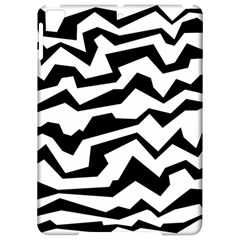 Polynoise Bw Apple Ipad Pro 9 7   Hardshell Case by jumpercat