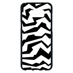 Polynoise Bw Samsung Galaxy S8 Plus Black Seamless Case