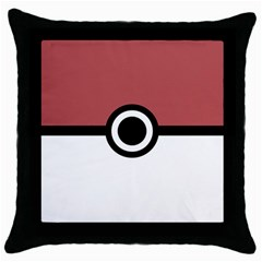 Monters Hunter Throw Pillow Case (black) by jumpercat
