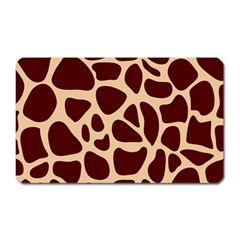 Animal Print Girraf Patterns Magnet (rectangular) by BangZart