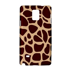 Animal Print Girraf Patterns Samsung Galaxy Note 4 Hardshell Case