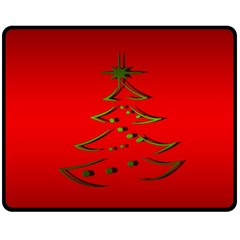 Christmas Fleece Blanket (medium)