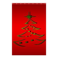 Christmas Shower Curtain 48  X 72  (small)  by BangZart