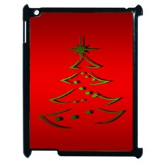 Christmas Apple Ipad 2 Case (black)