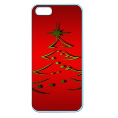 Christmas Apple Seamless Iphone 5 Case (color)